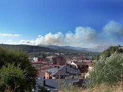 Incendio en el Monte Corcos de Guardo   by alpoma