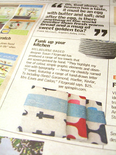 My tea towels in Epicure! | by Spin Spin