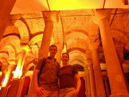"Dennis and Clare in ""Cistern of Philoxenos"" 