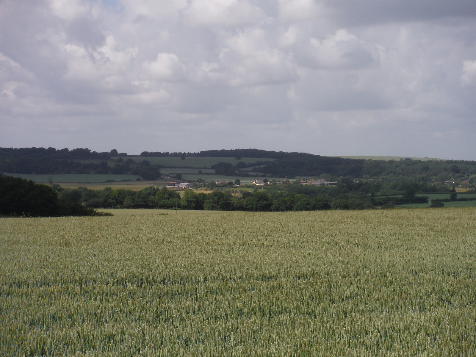 Views from Great Offley to Lilley and Warden and Galley Hills SWC Walk 234 Hitchin Circular