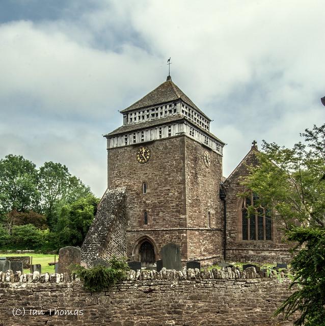 The Pretty Skenfrith Village Church