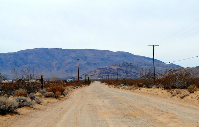 37 mile dirt road from Lucerne Valley to Pisgah California
