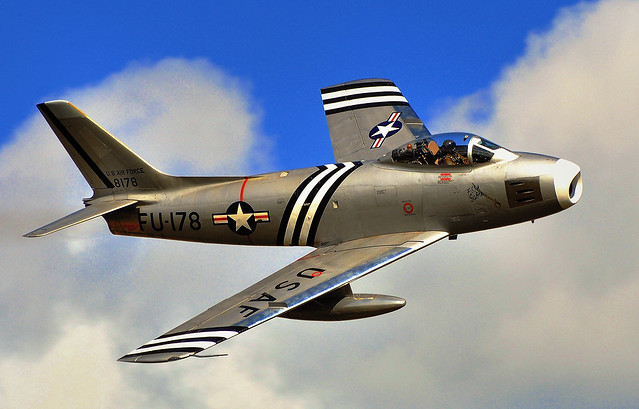 The oldest flying jet fighter in the world..