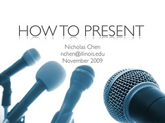 How To Present   by vazexqi