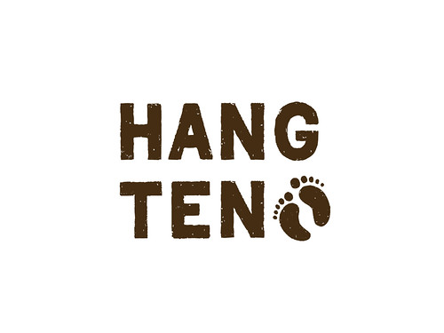 Logo Design | Hang Ten | by Art Zulu