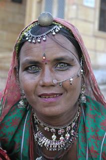 Woman in Jaisalmer