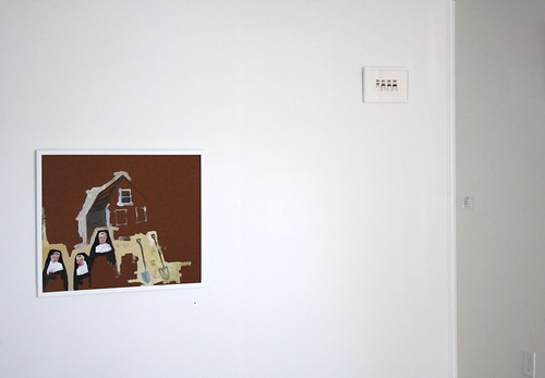 Installation Shot: House, Nuns and Shovels