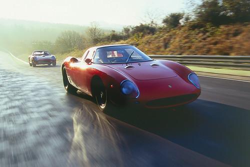 Ferrari 250 GTO & LM Christmas Cards