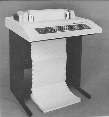 DEC LA36 Hard Copy Terminal   by PanelSwitchman