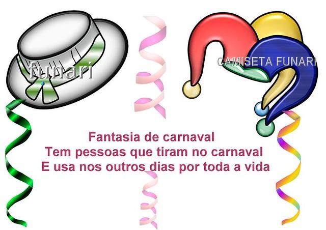 Desenho Frase Carnaval Chapeu Serpentina Desenho Com Dois Flickr