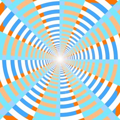 Optical Illusion Sun Rays 02   by matthəw