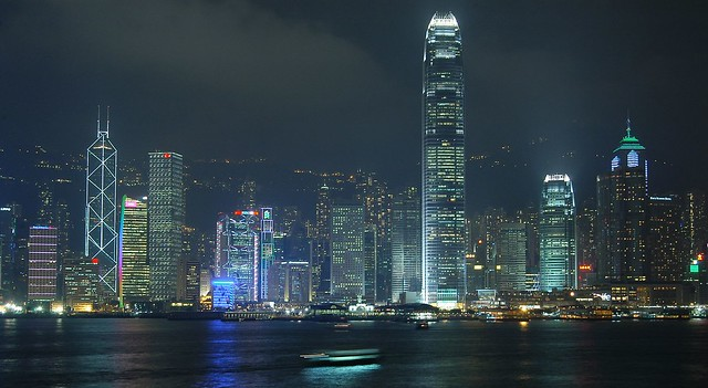 Hong Kong - Night Skyline
