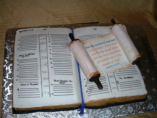 Open Door Ministries Open Bible I Made This Cake For