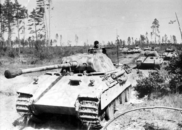 DMP-DD208 GERMAN PANTHERS ATACKING