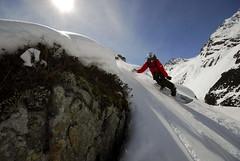 ACG SNOWride 2007 - Samnaun, jezdkyně: Katka Sobotková