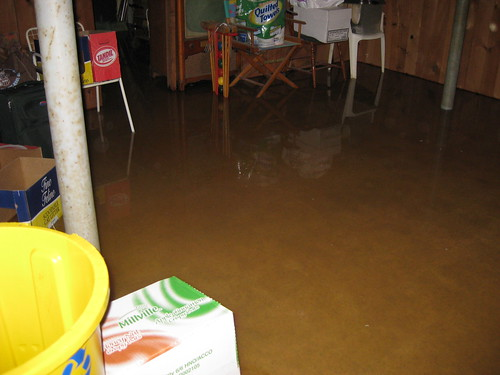 flooded basement | by jeffcovey
