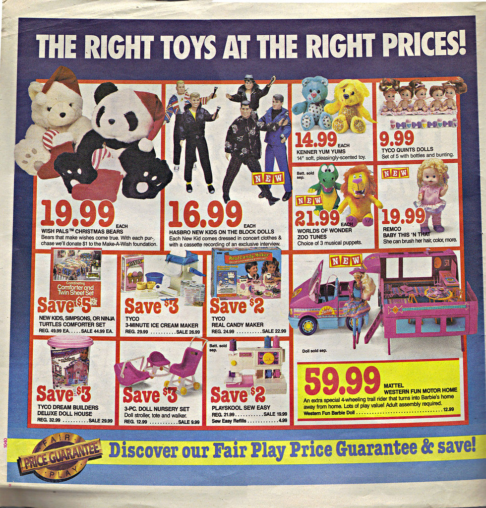 """Children's Palace - """"GRAND OPENING, All Stores Celebrate"""" { Colorado Springs C.P. }  Sunday Newspaper supplement .. pg.2 (( October 28,1990 )) by tOkKa"""