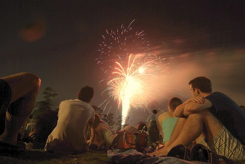 4th of July Fireworks at Miller Outdoor Theatre | by AlphaTangoBravo / Adam Baker