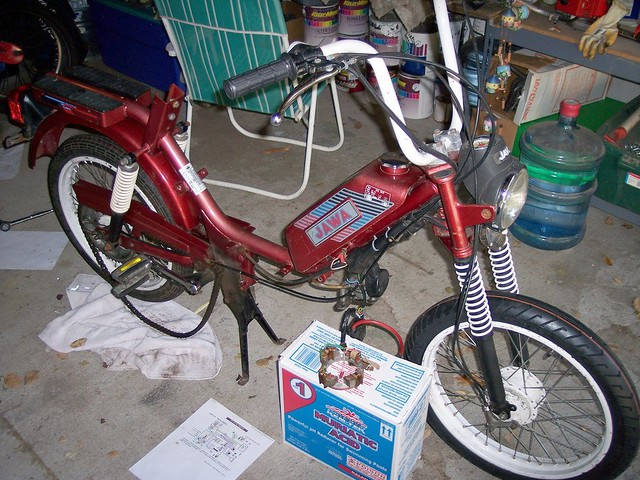 Jawa Moped project | J Smith831 | Flickr