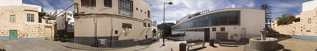 Calle Santiago Rivero, Teror. Isla de Gran Canaria