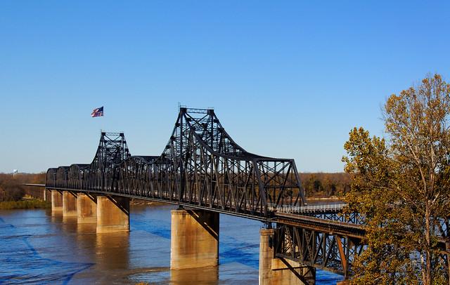 Old Mississippi River Bridge - #9443