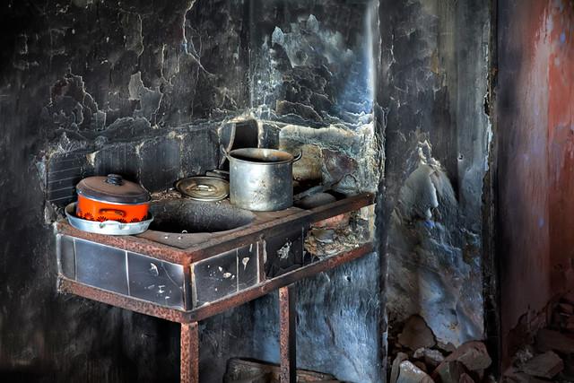 Cocina Quemada Cocina Quemada En Caseron En El Camino De P Flickr