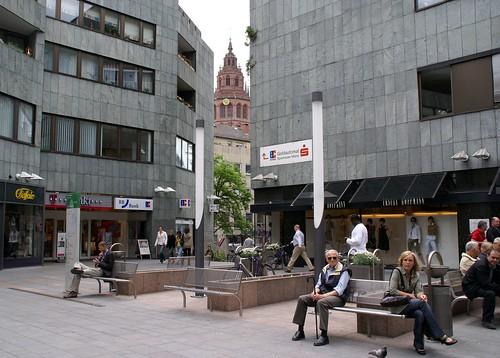 Einkaufszentrum Mainz