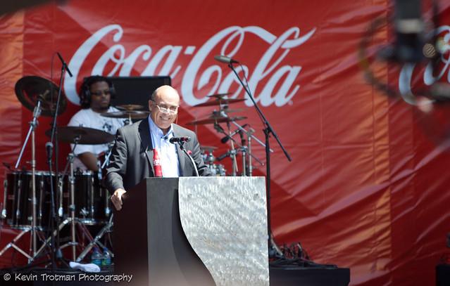 CEO Muhtar Kent Opens the Celebration of Coke125