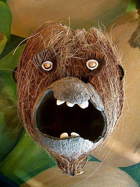 mr. coconut monkey face