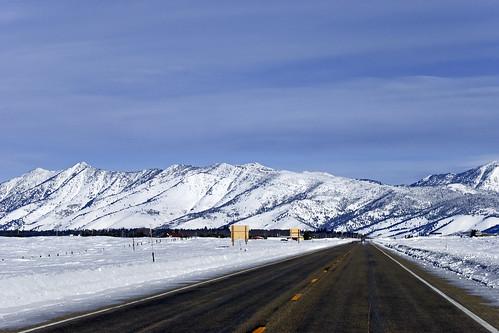 travel winter snow clouds landscape nikon highway idaho d80 70300mmf4556g