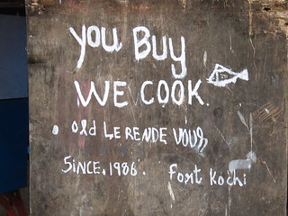 Street Food Sign, Fort Cochin, India | by SingChan