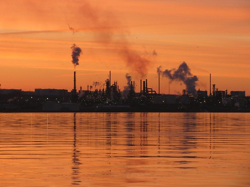 Oil Refinery at Dawn | by Iguanasan