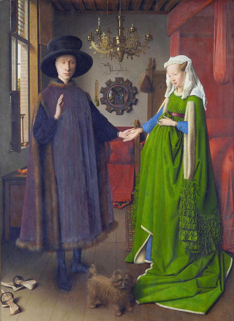Jan van Eyck - Arnolfini double portrait (1434)