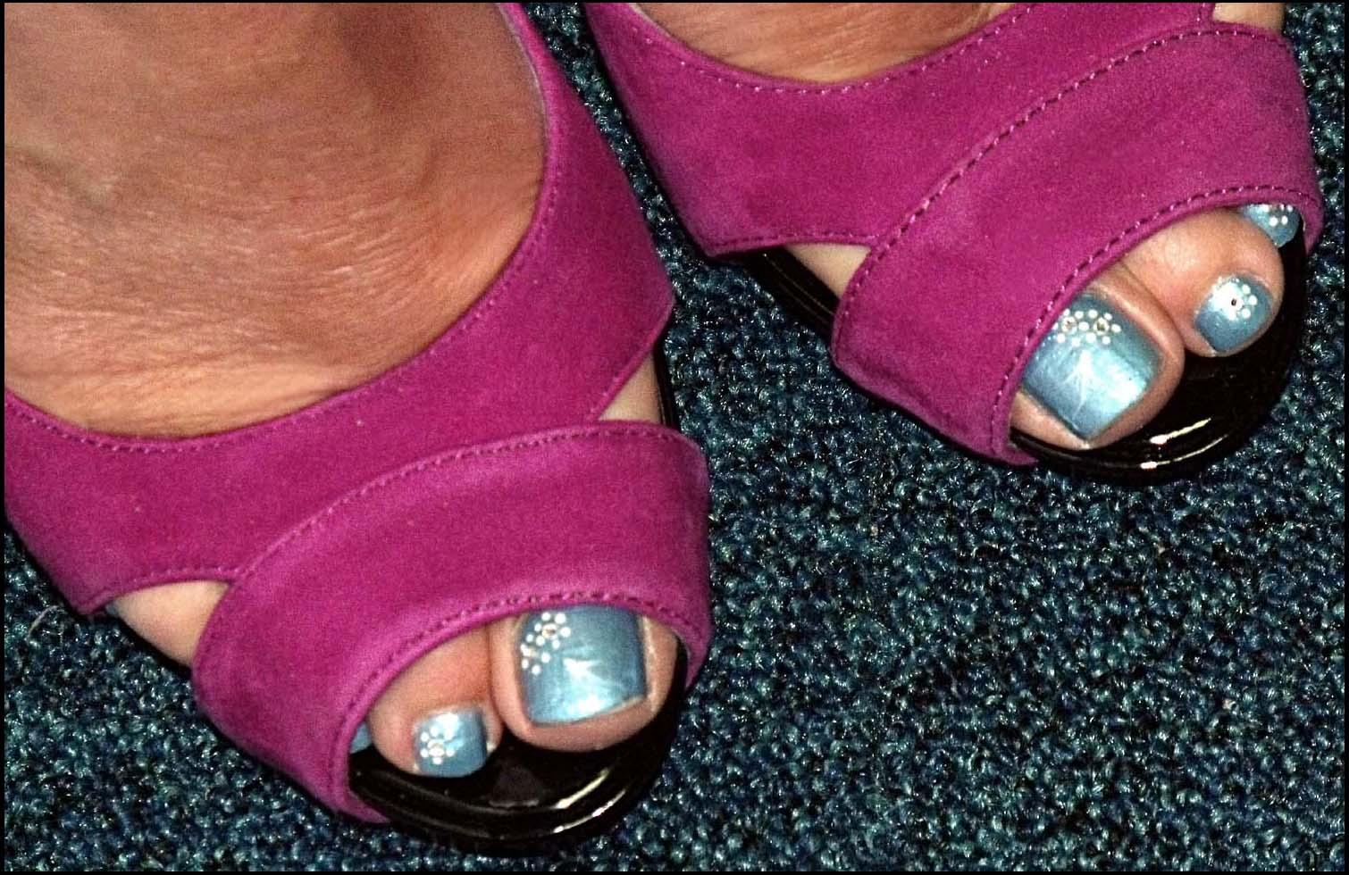 Purple,shoes,blue,nails,foot,footwear,leg,buckle,painted,toe,toes,toenail,toenails,365days,west,midlands,england,uk,britain,GB,europe,english,angela,feet,hotpix!