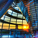 Berlin - Sunset inside the Reichstag Dome by Emilio Dellepiane