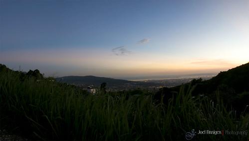 city panorama mountain scene kingston jamaica standrew springmountain photostitching photoshopps3