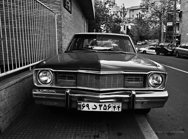 Dodge Dart. Elahieh District, Tehran