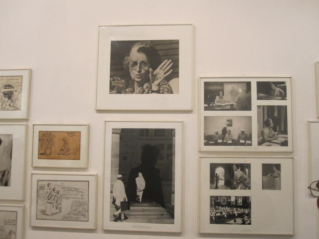 Indira gandhi's rare photos at museum