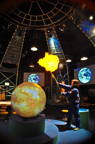 Carnegie Science Center 3' - Works Theater - Magic Planet | by Global Imagination