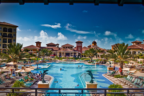 Sandals Beaches Turks and Caicos Italian Village Pool | by Vox Efx