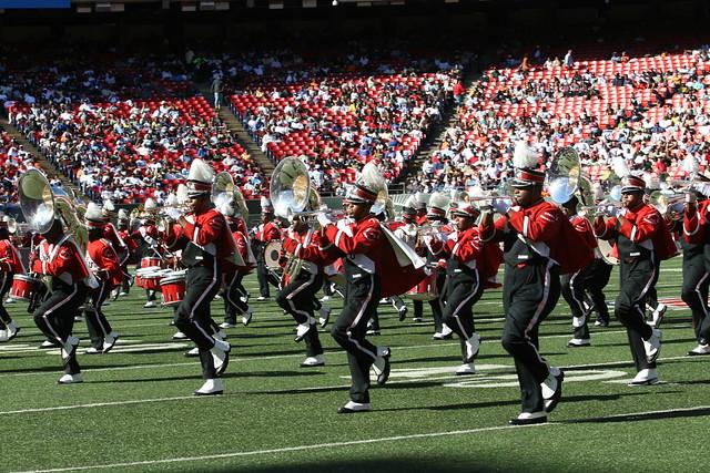 Winston Salem State University Marching Band