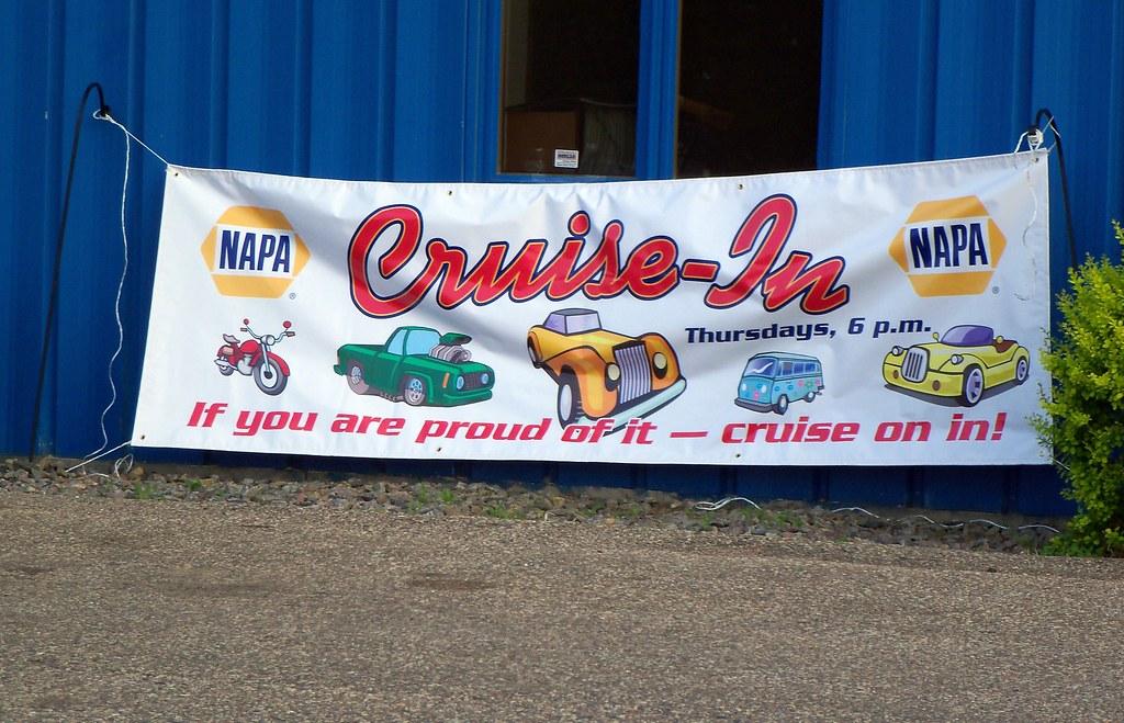 Napa Car Cruise In Banner Mark Flickr