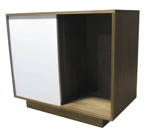 FSC Walnut Media Cabinet   by urbanwoods123