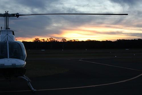 sky tarmac clouds work camden australia helicopter nsw vehicle runway camdenairport canoneos450d canonefs1855mmf3556is belljetranger206b3 vheps