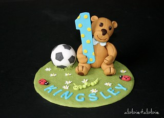Amazing 1St Birthday Cake Topper This Is For The Little Son Flickr Personalised Birthday Cards Paralily Jamesorg