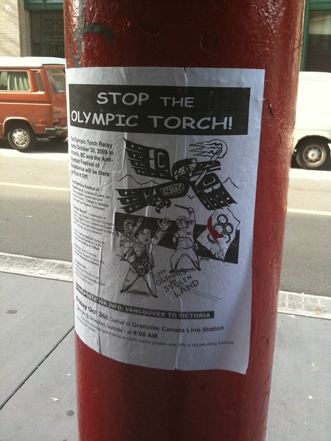 Stop the Olympic Torch