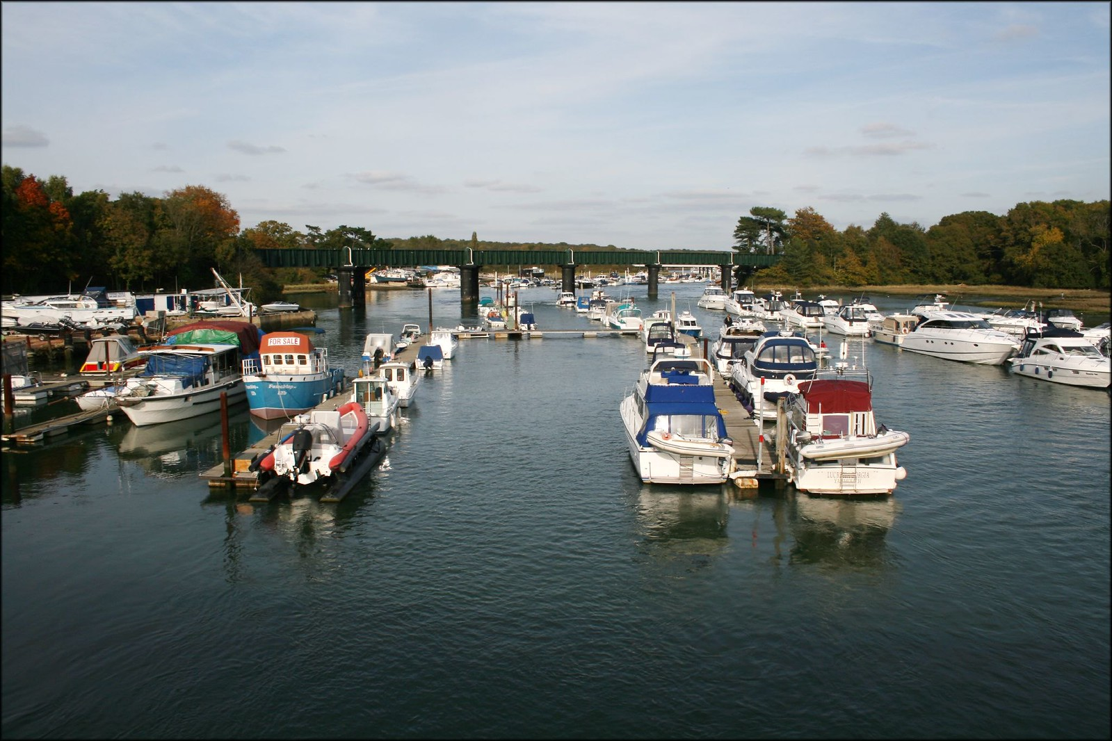 The River Hamble at Bursledon