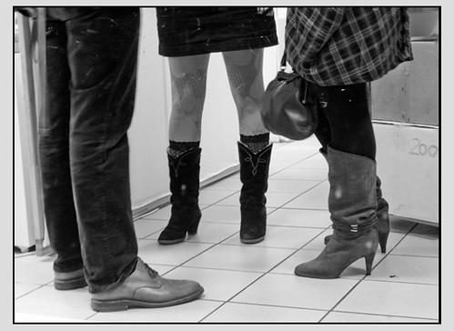 Beine zu Besuch