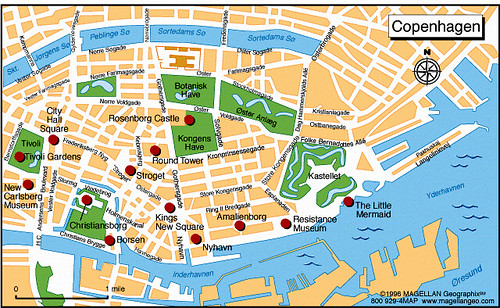 Copenhague Mapa De La Ciudad Infolibro Com Ve Flickr