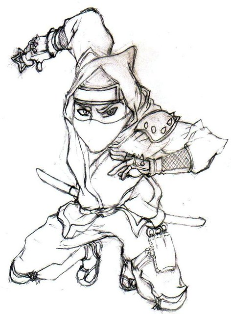 Ninja Ninja Naruto Anime Drawing Alvin Cool Hot